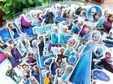 6 Frozen Elsa and Anna Sticker Sheets Birthday Party Loot Favor Bag Filler