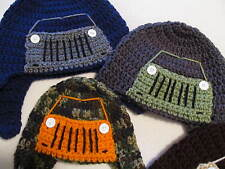 Crochet Off Road/Wheeling/Truck Hat - Made to Order for Baby up to Adult Sizes