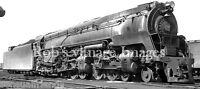 Pennsylvania Railroad 4-4-6-4 Q2 Steam Locomotive 6184 train Photo 1943