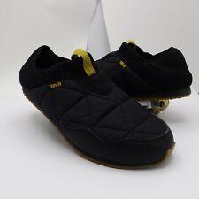 Teva Mens 10 Ember Black Slippers Sleeping Bag Quilted 1018226