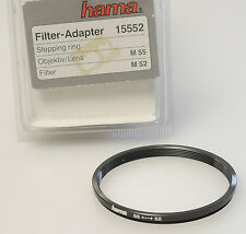 (PRL) HAMA ANELLO ADATTATORE FILTRO 55 <-> 52 mm FILTER ADAPTER RING ADAPTERRING
