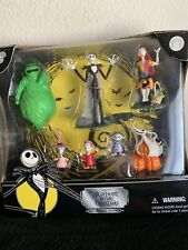 Nightmare Before Christmas Poseable Figures 7 Piece Set - New
