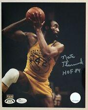 "Nate Thurmond Signed 8x10 Photo Golden State Warriors Insc ""HOF 84"", JSA Auth"