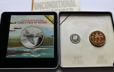 Canada Silver 25 Cents 2005 and Medal set, 60'TH ANNIVERSARY OF VE-DAY