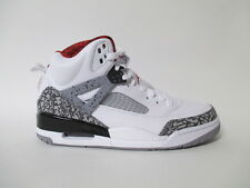 Nike Air Jordan Spizike White Red Cement Grey Black Sz 11 315371-122