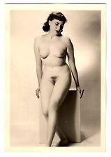 #703 RÖSSLER AKTFOTO / NUDE WOMAN STUDY * Vintage 1950s Studio Photo - no PC !