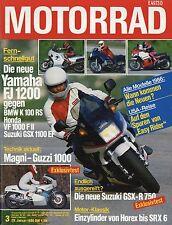 Motorrad 3/86 1986 BMW K 100 RS BSA Goldstar Velocette Venom Thruxton GSX-R 750