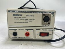 HQ 13.8 DC Regulated Power Supply 5-7amp PS1306C with 4pin XLR