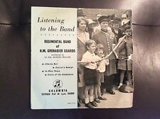 "REGIMENTAL BAND OF HM GRENADIER GUARDS - Listening To The Band 7"" Vinyl"