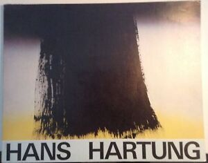 Hans Hartung 1979 Musée Picasso Exhibition Catalogue Paperback Painting Ceramics