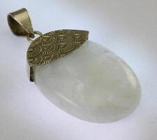 RAINBOW MOONSTONE PENDANT 925 STERLING SILVER ARTISAN JEWELRY COLLECTION R716A