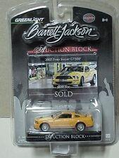 Greenlight Barrett-Jackson # 1 Ford 2007 Mustang Shelby GT 500 yellow orange