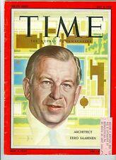 MAGAZINE TIME  Architect   Eero  Saarinen   JULY 2 1956