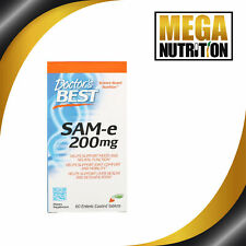 Doctor's Best SAM-e 200 60 Tablets | Joints Arthritis Liver Health Support