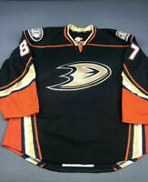 2015-16 C.J. Garcia Anaheim Ducks Game Issued Worn Reebok Hockey Jersey!
