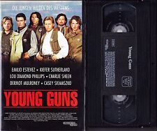 VHS Young Guns - Charlie Sheen, Emilio Estevez - Concorde - FSK 16