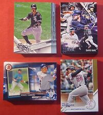 2017 Topps Series 1, 2 & Update Lot - You Pick 25  - Includes Inserts