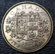 1912 CANADA $5 DOLLAR GOLD - GEORGE V - .900 GOLD - BEAUTIFUL