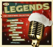 LEGENDS-CHRISTMAS COLLECTION 3 CD-Sinatra Frank, Lee Peggy, Armstrong Louis NEUF