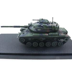 New 1:72 US Army M60A3 Main Battle Tank NATO Tricolor Camo Metal + Plastic Model