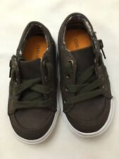 20312392d8210 Toddler Boys  Brown Canvas Okie Dokie Garrin Shoe – Size 6 ...