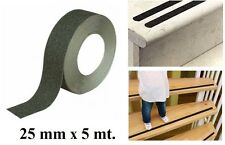 Rotolo Nastro Adesivo Antiscivolo Antisdrucciolo Scale Doccia Estern 5mx25mm dfh
