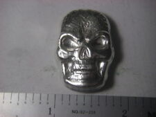Celtic Skull - Beaver Bullion hand poured Canadian 1 troy ounce 999 fine silver