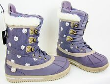 BURTON STERLING SNOWBOARD BOOTS -- WOMEN'S -- COLOR: LAVENDER -- SIZE: 7.5 - NEW