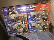 Orange County Chopper American Series Black Widow Mikey Jet Rigid 1:18 Lot Set 4