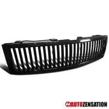 For 2007-2013 Chevy Silverado 1500 Sport Black Vertical Front Hood Grille