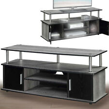 TV STAND ENTERTAINMENT Media Console Center 46 Inch Flat Screen Wood Furniture