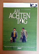 AM ACHTEN TAG * Jaco van Dormael - PRESSEHEFT deutsch ca.28-seitig Pressbook ´96