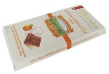 schweizer Villars Schokolade Milchschokolade gefüllt mit Aprikosen Likör 100 g