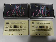 MATT MONRO MUSICA PARA SOÑAR DOBLE 2 X CINTA CASSETTE EMI 1991 SPANISH EDITION