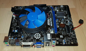 MSI MS-7817 H81M-P33 Ver:1.2 DDR3 Sockel 1150 USB 3.0 DVI VGA mATX Mainboard TOP