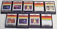Vintage Atari Imagic Lot Of 8 Atari 2600 Game Cartridges