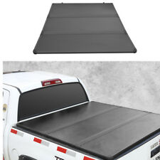 JDMSPEED Lock Hard Tri-Fold Tonneau Cover 5.5ft Bed For 2004-2014 Ford F-150