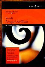 Verdi - I Vespri Siciliani, Muti  - DVD, As New
