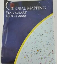 "27"" X 42"" GIANT STAR MAP GLOBAL MAPPING STAR CHART EPOCH 2000 UNIVERSE"