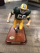 Ray Nitschke Green Bay Packers The Danbury Mint Figurine Nfl #66 Retired