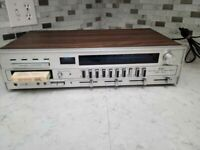 Vintage Sears 8 Track AM/FM Stereo Receiver reconditioned good working condition