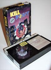 Vintage 1984 Kill Point Beta Video Cassette Movie - Richard Roundtree!! RARE!