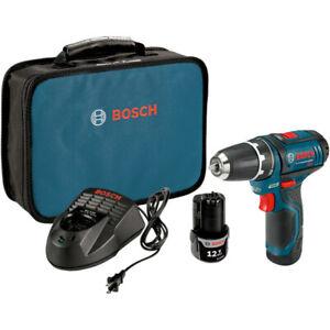 "Bosch 12V Max Li-Ion 3/8"" Drill Driver PS31-2A Certified Refurbished"