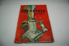 Overstolz Zigaretten Köln Pappschild Reklameschild Werbeschild - D um 1950