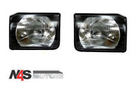 LR DISCOVERY 2 FRONT HEADLIGHTS LAMPS PAIR RH & LH.PART-XBC105120, XBC105130