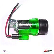 Verde Universal 12V Puro Enchufe Cigarrillo de Mechero & Conector Navegador