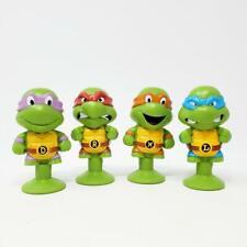 Teenage Mutant Ninja Turtles Tmnt Chibi Snapz Set of 4 Turtles New Loose (i:a8)