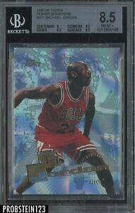 1995-96 Topps Power Booster #277 Michael Jordan Chicago Bulls HOF BGS 8.5 w/ 9.5