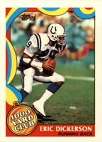 1989 Topps 1000 Yard Club Football #s 1-24 - You Pick - Buy 10+ cards FREE SHIP