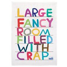 David Shrigley - Large Fancy Room Tea Towel - Collectable Art